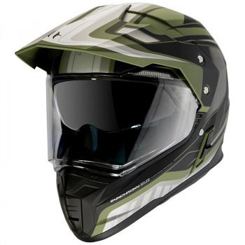 фото 1 Мотошлемы Мотошлем MT Synchrony SV Duo Sport Tourer Matt Green Military-Black 2XL