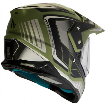 фото 2 Мотошлемы Мотошлем MT Synchrony SV Duo Sport Tourer Matt Green Military-Black 2XL