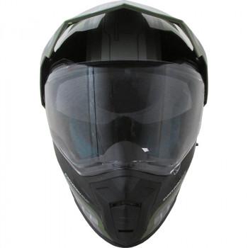 фото 3 Мотошлемы Мотошлем MT Synchrony SV Duo Sport Tourer Matt Green Military-Black 2XL