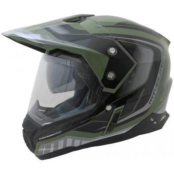 фото 5 Мотошлемы Мотошлем MT Synchrony SV Duo Sport Tourer Matt Green Military-Black 2XL