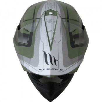 фото 6 Мотошлемы Мотошлем MT Synchrony SV Duo Sport Tourer Matt Green Military-Black 2XL
