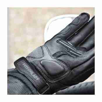 фото 4 Мотоперчатки Мотоперчатки Shima Monde Black M