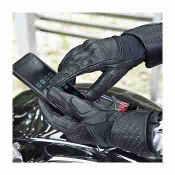 фото 5 Мотоперчатки Мотоперчатки Shima Monde Black M