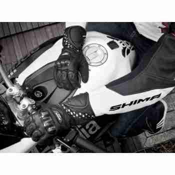 фото 7 Мотоперчатки Мотоперчатки Shima Prospeed Black M