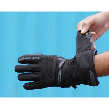 фото 6 Мотоперчатки Мотоперчатки Shima Touringdry Black L