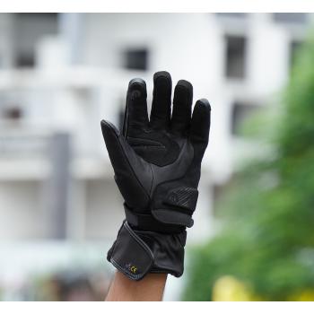 фото 7 Мотоперчатки Мотоперчатки Shima Touringdry Black L