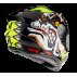 фото 6 Мотошлемы Мотошлем MT Targo Crazydog Yellow M