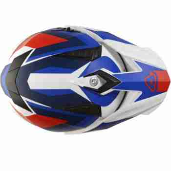 фото 3 Мотошлемы Мотошлем Acerbis Flip FS-606 White-Blue-Red S