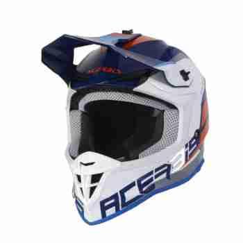 фото 1 Мотошлемы Мотошлем Acerbis Linear Blue-White XL