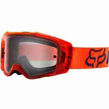 фото 1 Кроссовые маски и очки Мотоочки FOX Vue Mach One Goggle Orange, Clear Lens