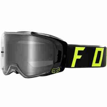 фото 1 Кроссовые маски и очки Мотоочки FOX Vue Psycosis Spark Goggle Black-White, Mirror Lens