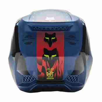 фото 4 Мотошлемы Мотошлем FOX V3 RS Mawlr Dusty Blue M