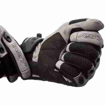 фото 2 Мотоперчатки Мотоперчатки RST Ventilator-X CE Silver-Black S