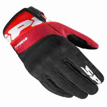 фото 1 Мотоперчатки Мотоперчатки Spidi FLASH-KP Black-Red 2XL