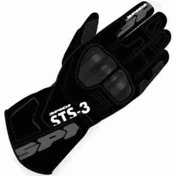 фото 1 Мотоперчатки Мотоперчатки Spidi STS-3 Black L