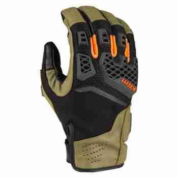 фото 1 Мотоперчатки Мотоперчатки Klim Baja S4 Sage - Strike Orange LG
