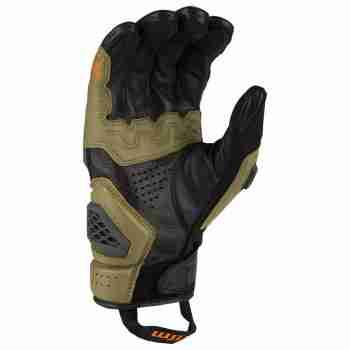 фото 2 Мотоперчатки Мотоперчатки Klim Baja S4 Sage - Strike Orange LG