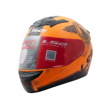 фото 1 Мотошлемы Мотошлем LS2 FF352 Rookie Fan Matt Orange XL
