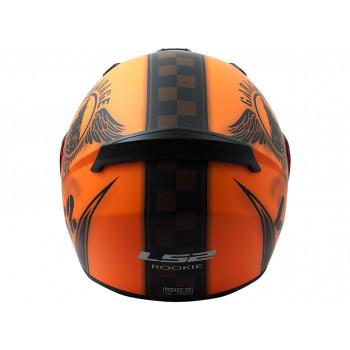 фото 6 Мотошлемы Мотошлем LS2 FF352 Rookie Fan Matt Orange XL