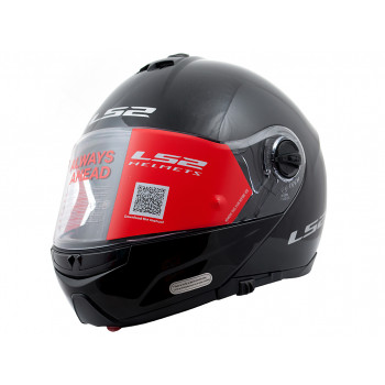 фото 1 Мотошлемы Мотошлем LS2 FF325 Strobe Gloss-Black XL