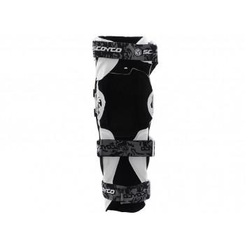 фото 3 Мотонаколенники Мотонаколенники Scoyco K12 White-Black