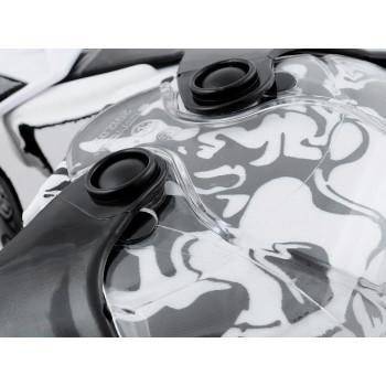 фото 4 Мотонаколенники Мотонаколенники Scoyco K12 White-Black