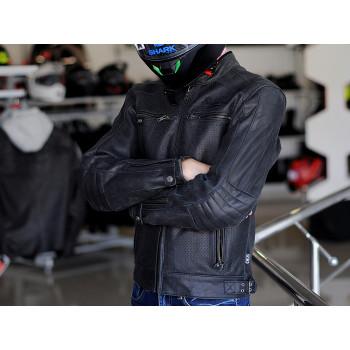 фото 3 Мотокуртки Мотокуртка кожаная Segura Iron Black XL