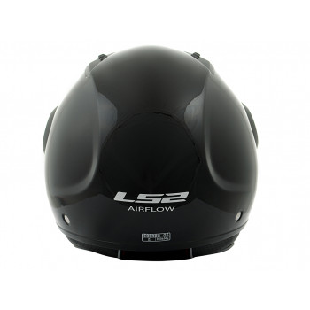 фото 2 Мотошлемы Мотошлем LS2 OF562 Airflow Long Gloss-Black M