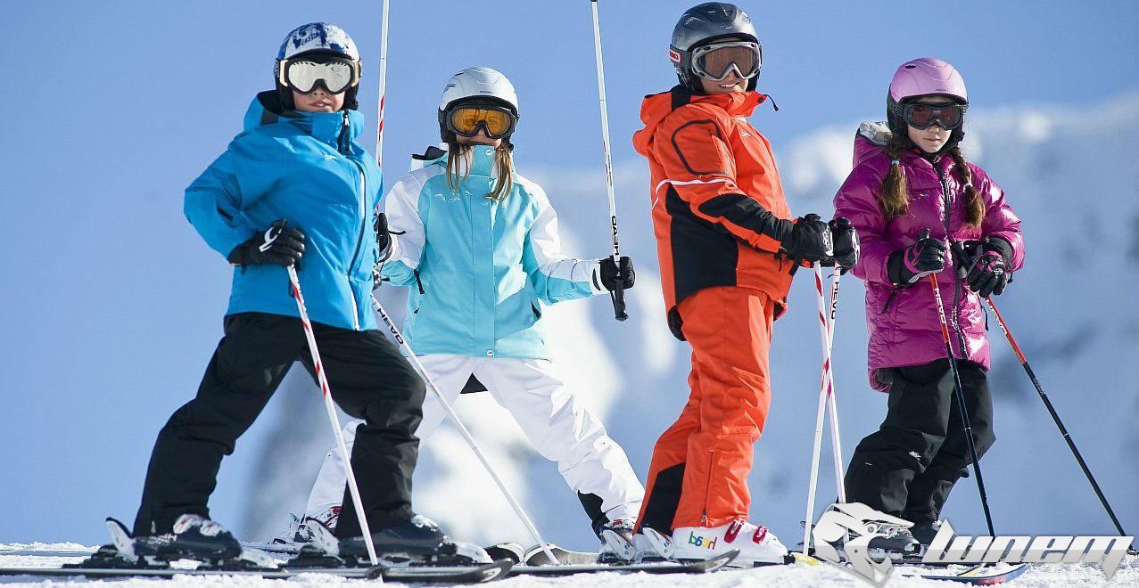 детские лыжные костюмы