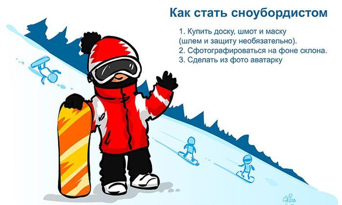 Как стать сноубордистом