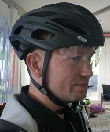визор для велошлема