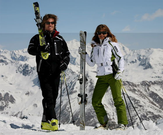 костюмы горнолыжные мужские и женские