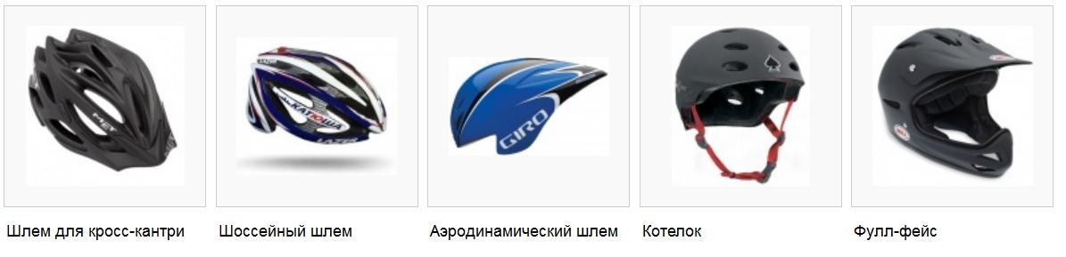 модели велошлемов