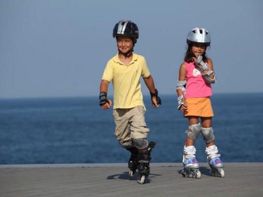 защита для роликов детская