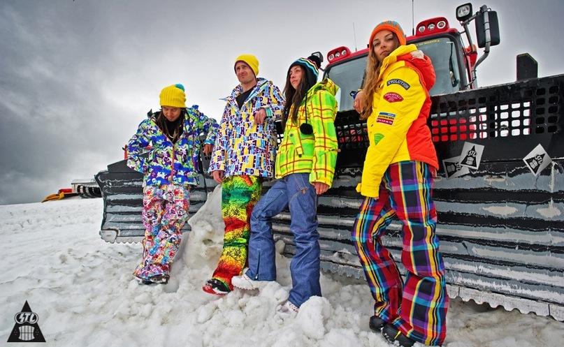 штаны лыжные и бордические