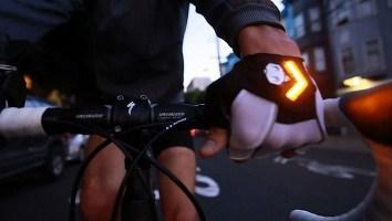 велоперчатки поворотники