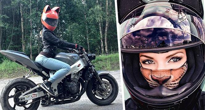 Шлем для мотоцикла женский