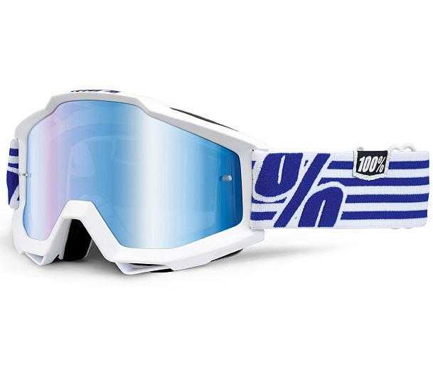 100% �������� 100% Accuri Goggle Nimitz - Mirror Blue Lens