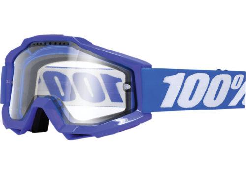 100% �������� 100% Accuri Enduro Reflex Blue - Clear Dual Lens