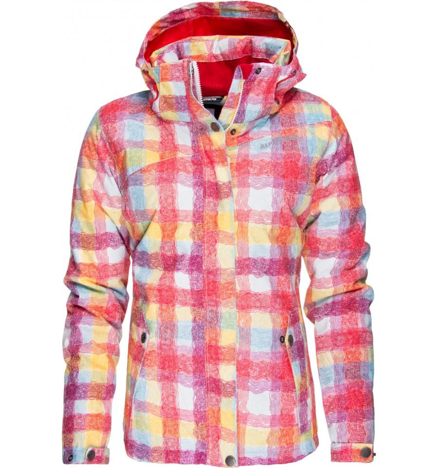 alpine pro Горнолыжная куртка женская Alpine Pro Matilde Red L