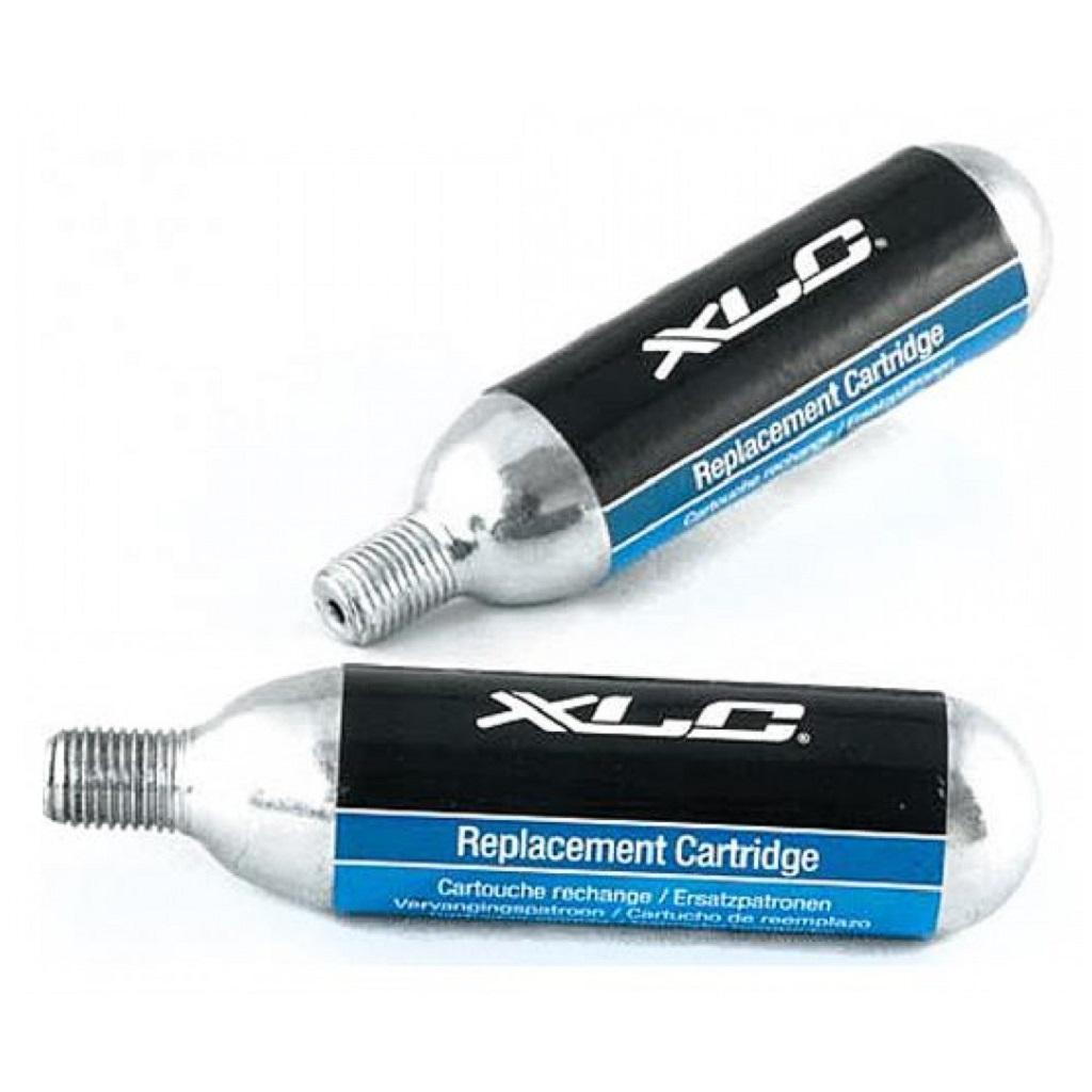 Баллоны CO2 для насоса XLC PU-X04 2x16g Silver-Black-Blue 2501957200