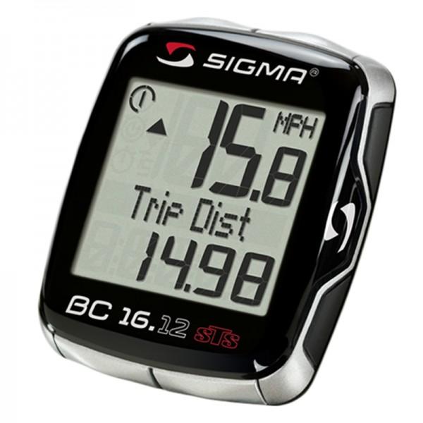 велокомпьютер Sigma Sport Bc 16.12 Sts+cad инструкция - фото 3