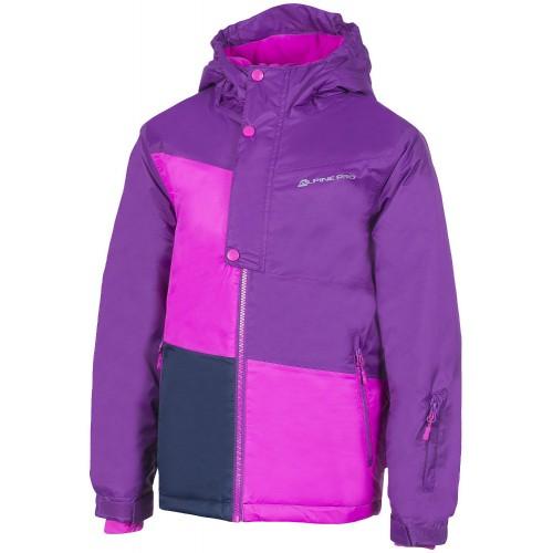 alpine pro Горнолыжная куртка детская Alpine Pro Clearco 2 Violet 140-146