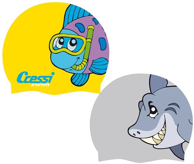 cressi ������� ��� �������� Cressi Sub Junior Fantasy Silicone Cap (DF200198) 8022983027487