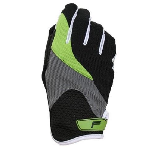 Велоперчатки Fuse Zenmaster Fullfinger Black-Grey-Green L 39-6048-0-2-0228