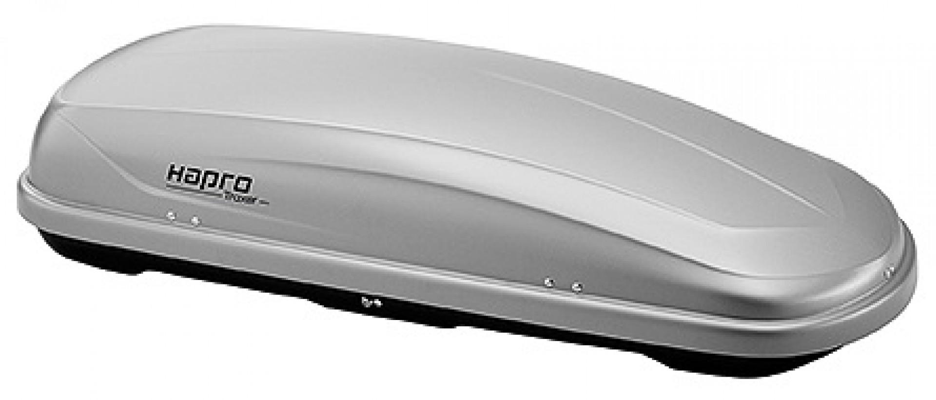 Багажный бокс Hapro Traxer 5.6 Silver-Grey HP 25901